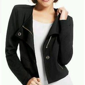 Cabi black blazer size small #615 brass buttons
